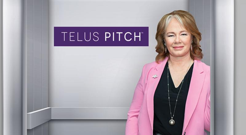 TELUS Pitch Returns With Judge and Business Expert Arlene Dickinson