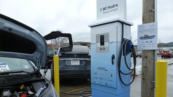 BC Hydro Adds 28 More 'Fast Charging' Electric Vehicle Stations to