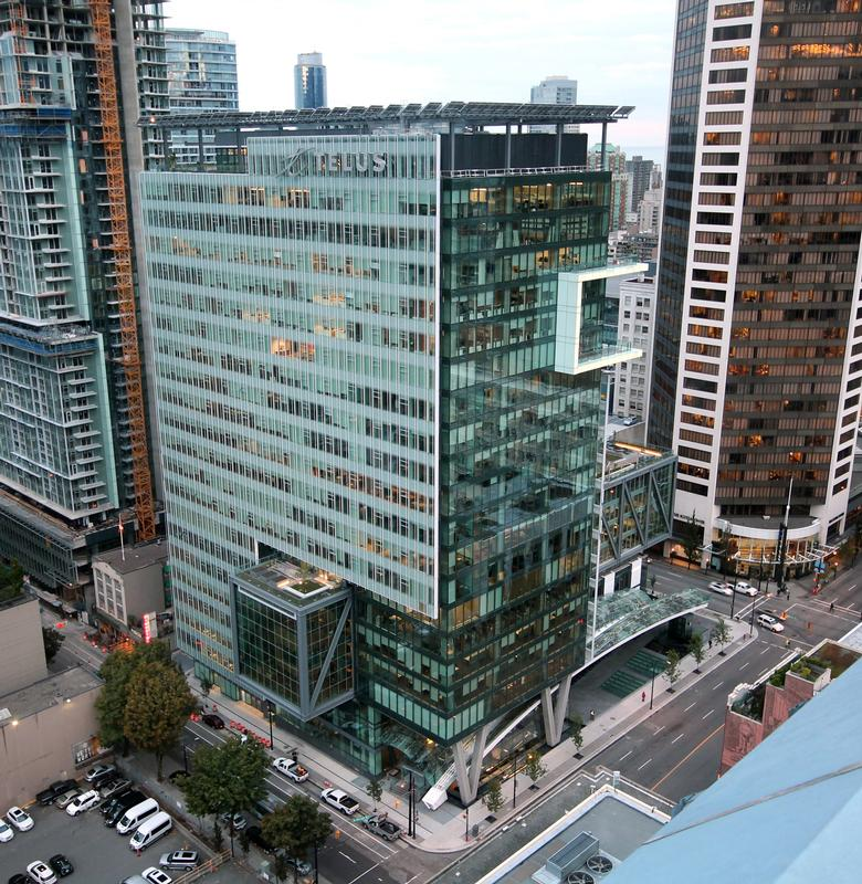Telus Officially Opens Telus Garden Canada S Most Sustainable Office Tower In Downtown Vancouver T Net News