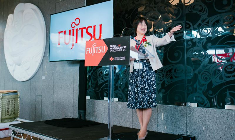 Fujitsu Opens New Artificial Intelligence Headquarters Fujitsu Intelligence Technology In Vancouver Bc T Net News